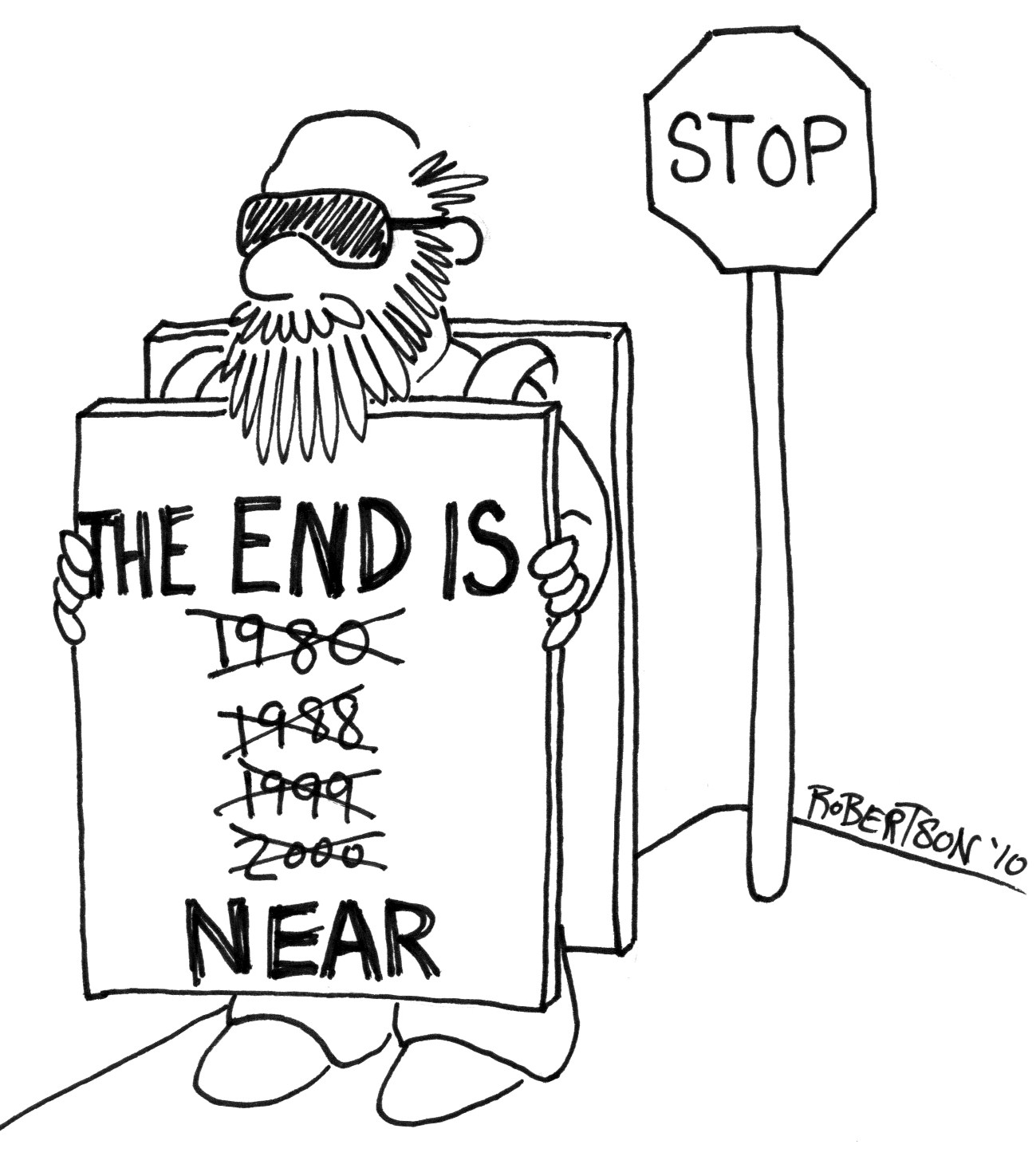 the end is nigh dust off the bible