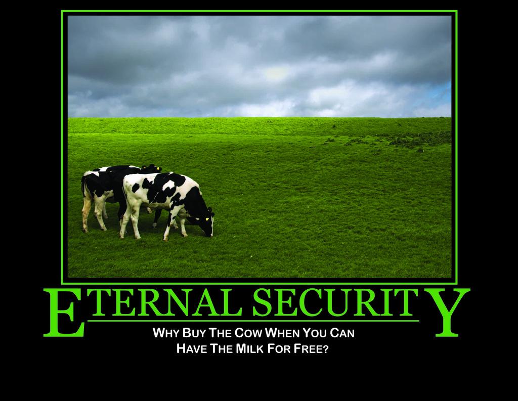 eternal security meme