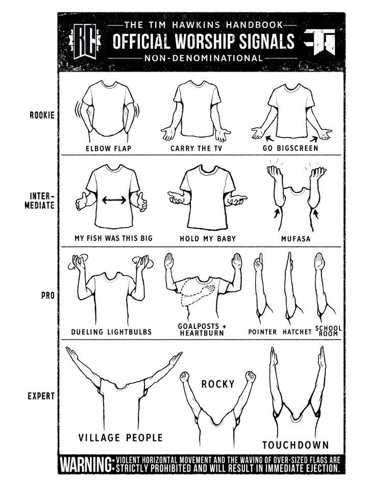 worship position chart