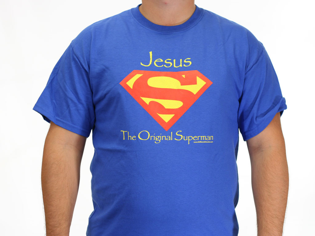 Jesus the original superman