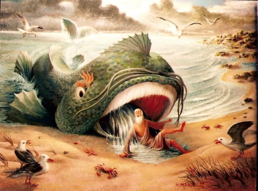 Jerks of the bible series entry 4 jonah dust off the for Fish in the bible