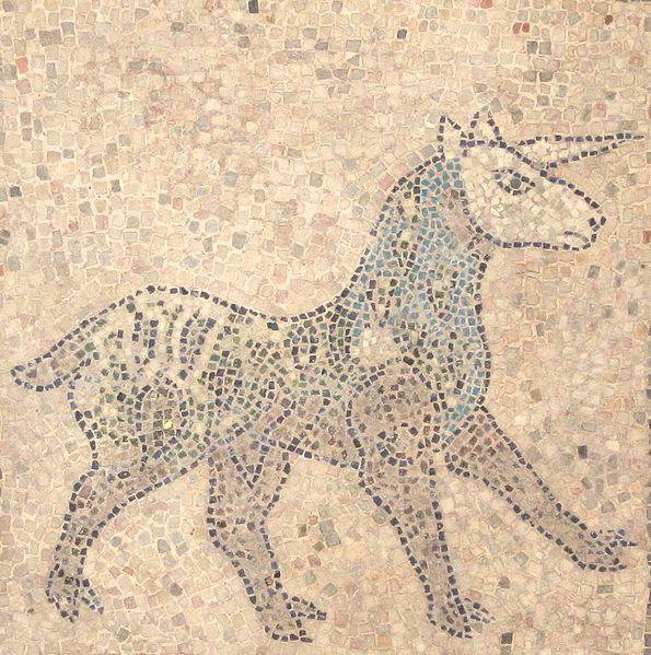 San Giovanni Evangelista in Ravenna unicorn