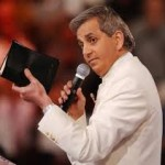 Benny Hinn With Bible