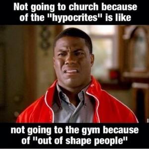 hypocrites in church