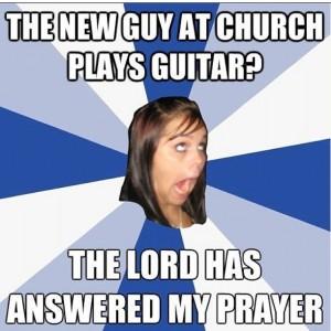 new guy at church