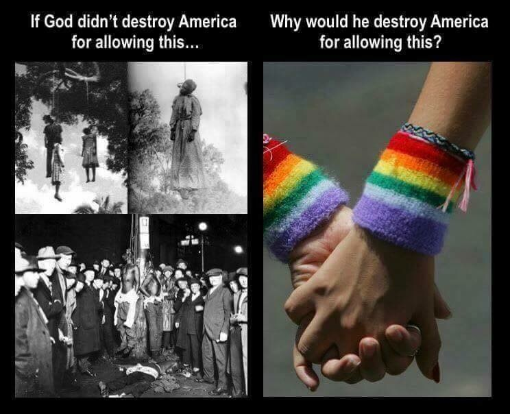 Will God punish America for gay marriage?