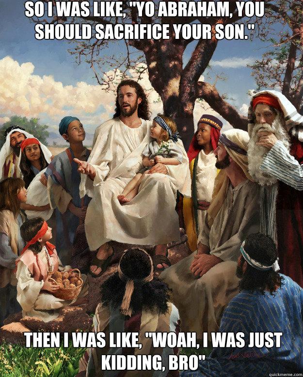 Story time jesus abraham