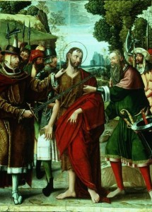 Arrest of John the baptist