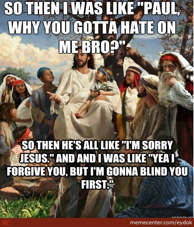 Story time white jesus christian meme