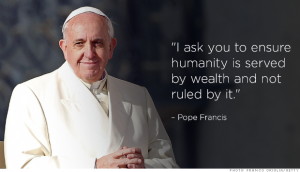 pope francis wealth