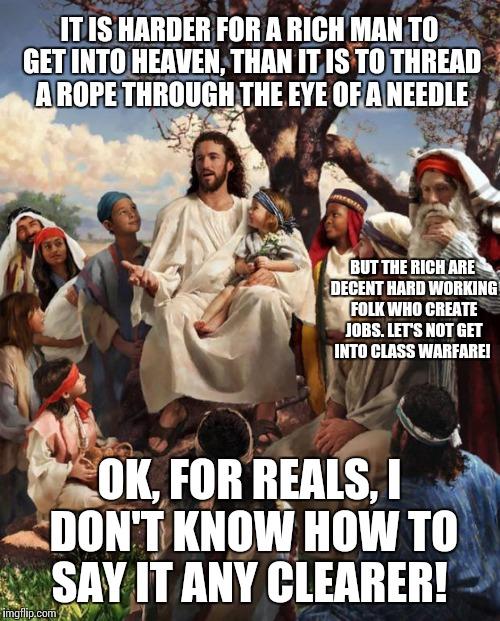 story time jesus rich in heaven