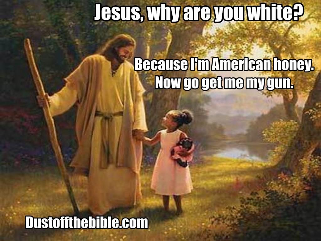 American jesus meme