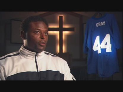 Evangelism Linebacker; Derwin Gray