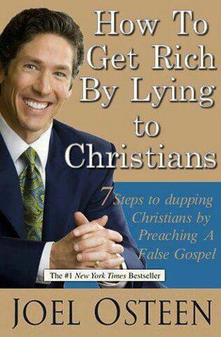 Joel Osteen how to be rich