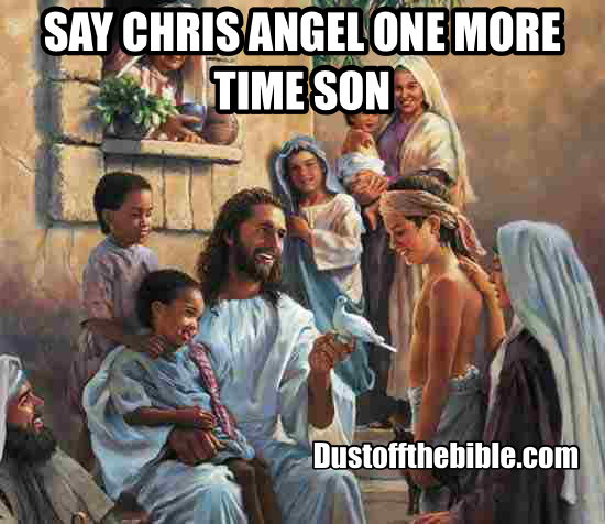 Jesus meme chris angel