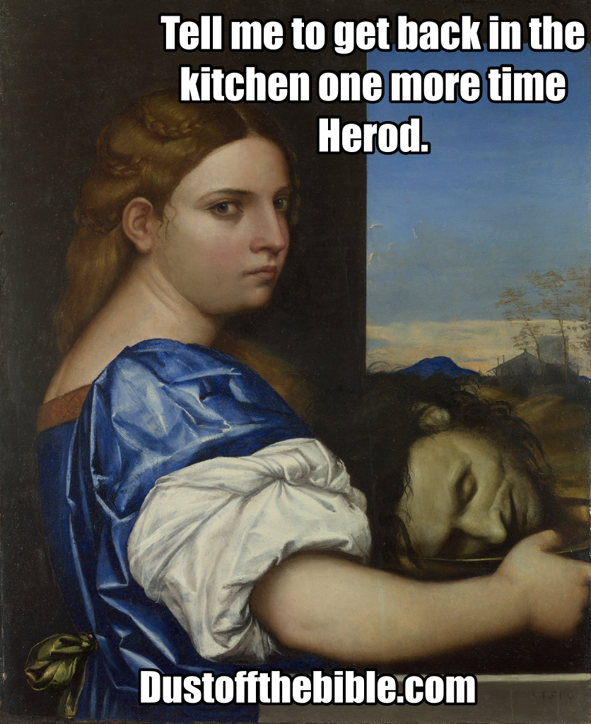 Christian meme herodias
