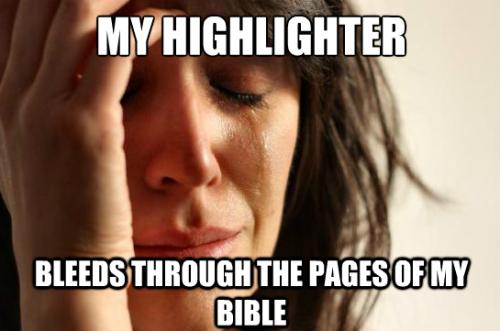 Christian meme highlighter