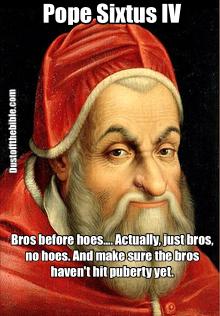 Pope Sixtus IV Meme