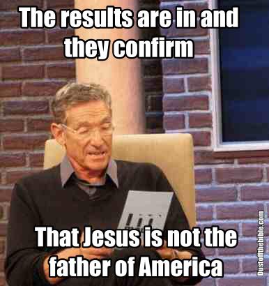 Jesus america meme
