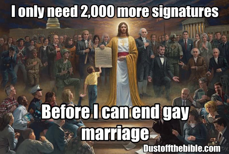 Jesus petition meme
