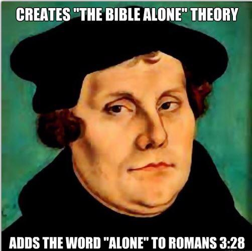 Luther - catholic memes