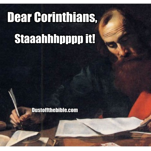 Paul to corinth memes