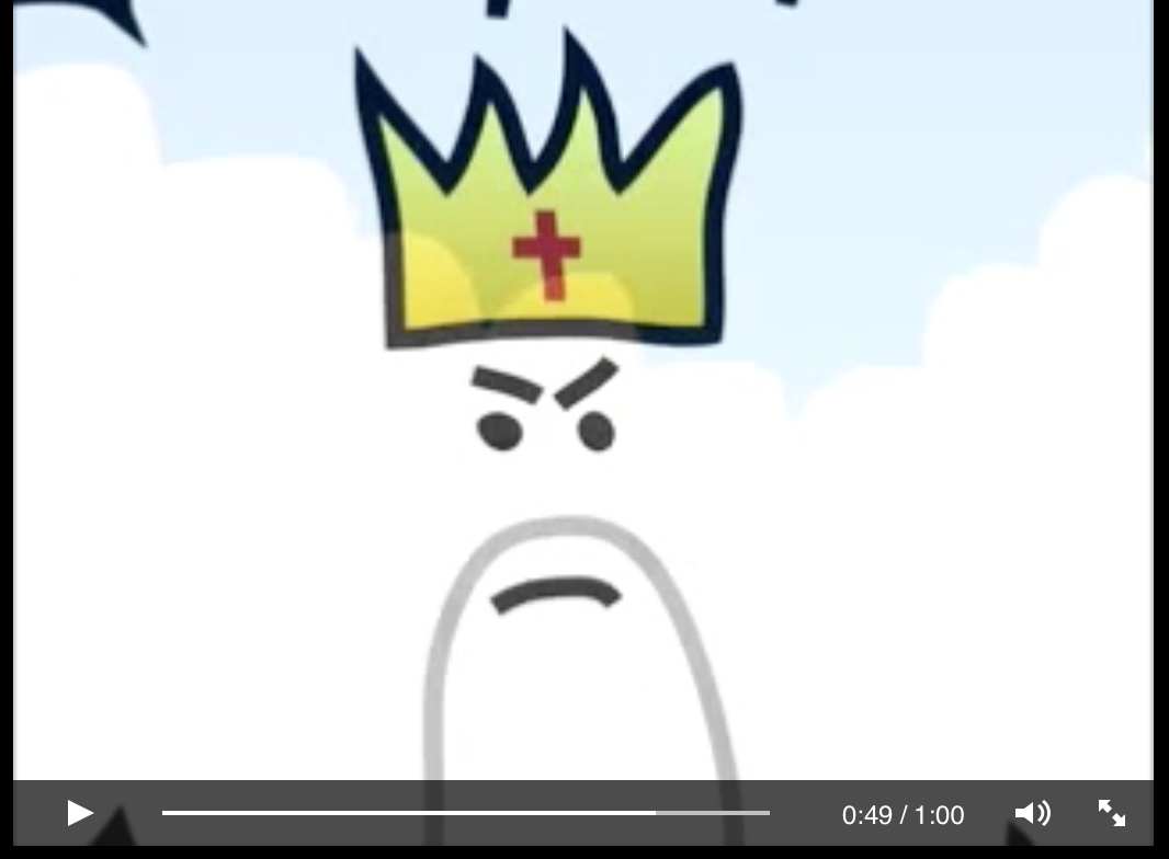 Cartoon Short – Atheist Dies and Goes To Heaven