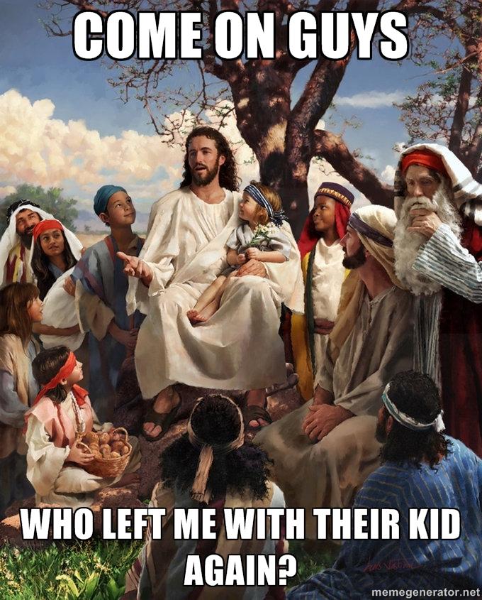 Story time jesus lost kid