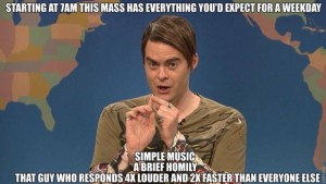 mass day - catholic memes