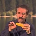 ray comfort with banana