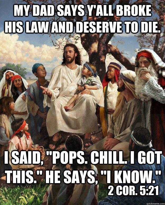 story time jesus 2 cor 5 21