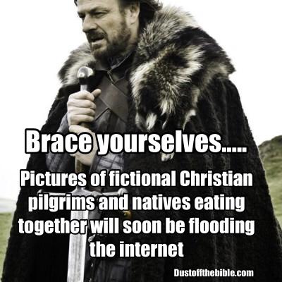 thanksgiving christian meme