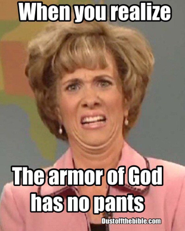 Armor of God christian meme
