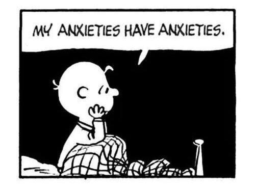 Peanuts charlie brown anxiety
