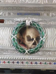 Skull of Saint Agnes