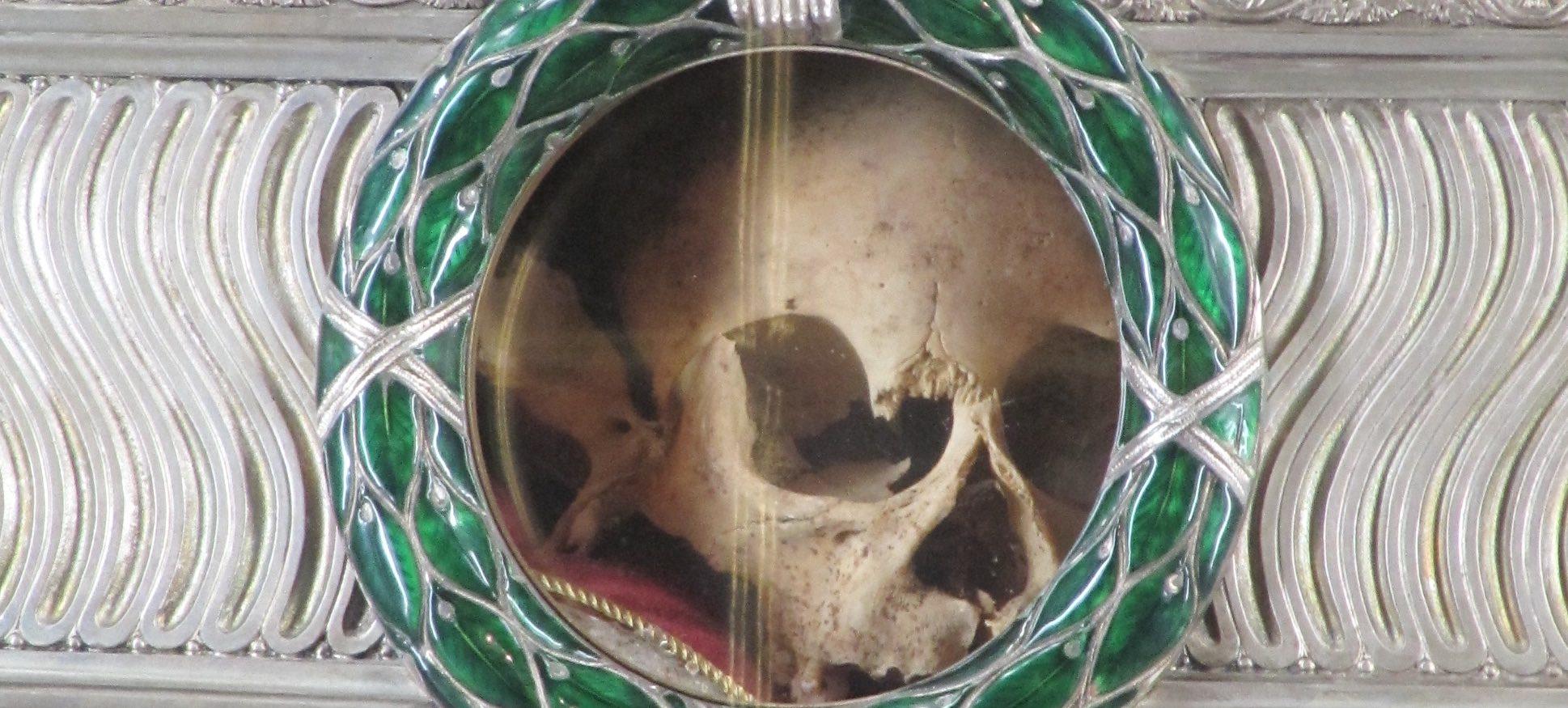 Skull of Saint Agnes header