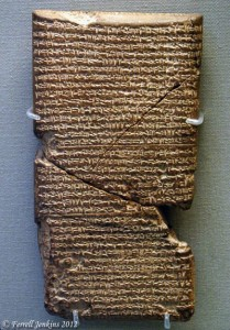Babylonian Chronicle for years 615-609 B.C.