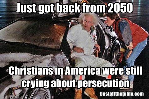 back to the future christian meme