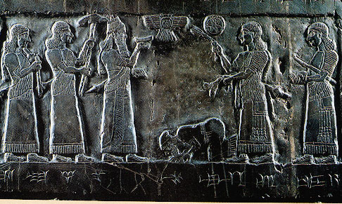 black obelisk of shalmaneser