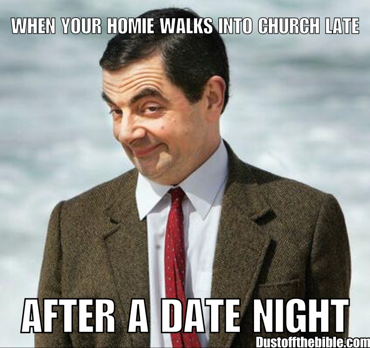 church after date night christian meme