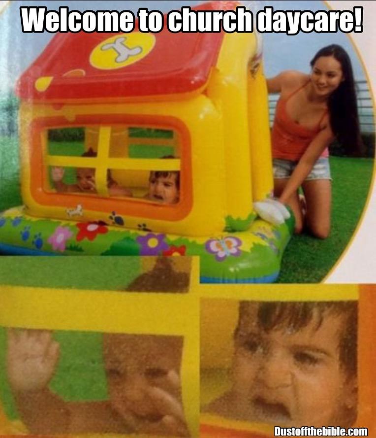 church daycare christian meme