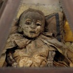 preserved child in catacombs