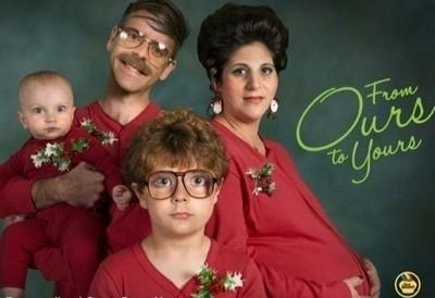 Awkward Christmas Family Photo