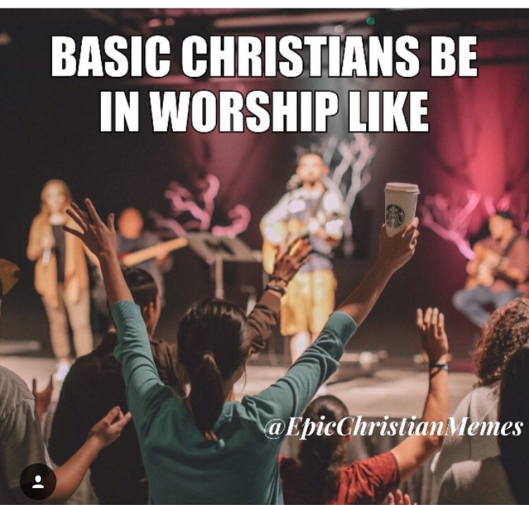 Basic Christians Be Like Meme