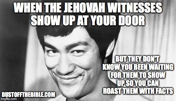 Bruce Lee JW Meme