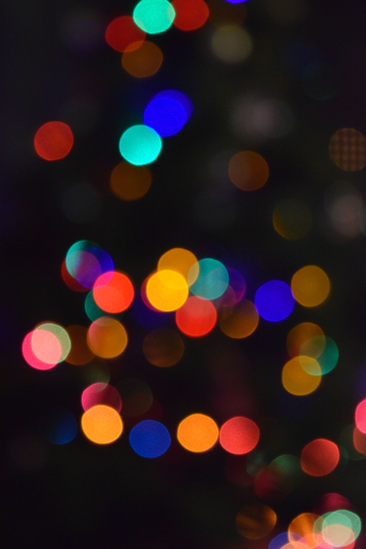 Christmas Tree Light Orbs