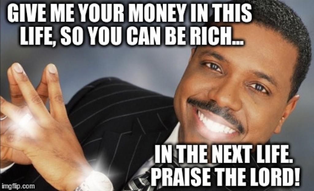 Creflo Dollar Christian Meme