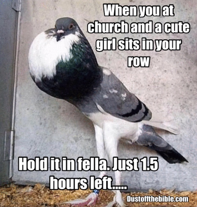Cute Church Girl Christian Meme