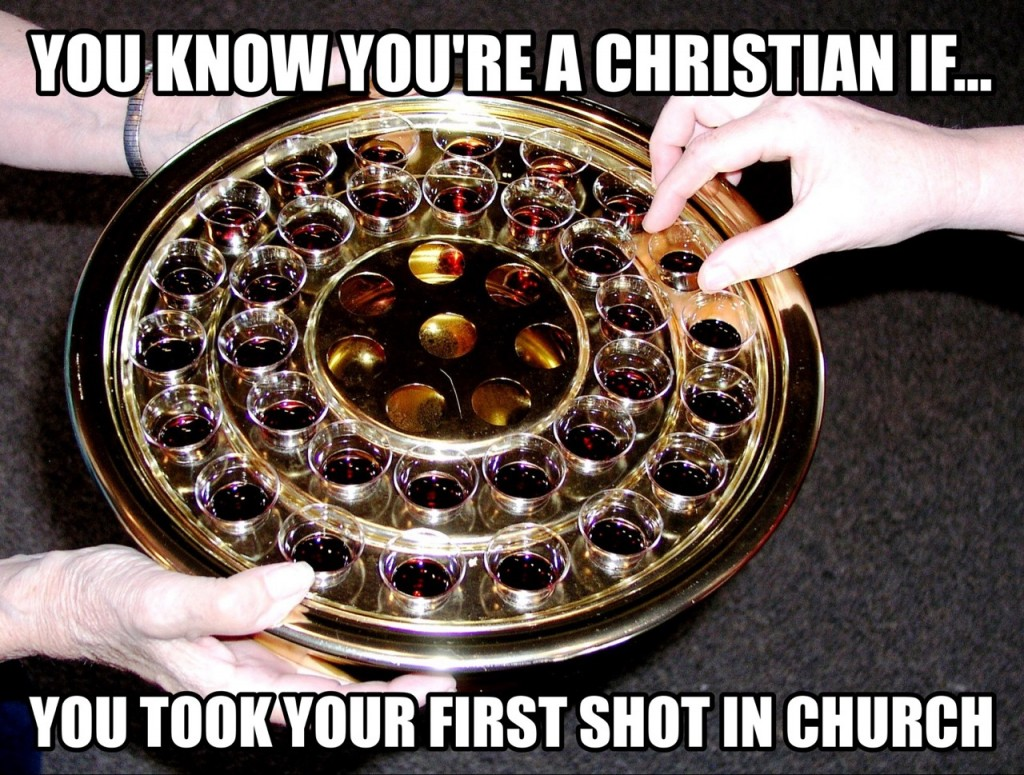 First Shot In Church