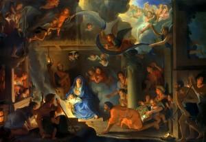 Lebrun Adoration Of The Shepherds